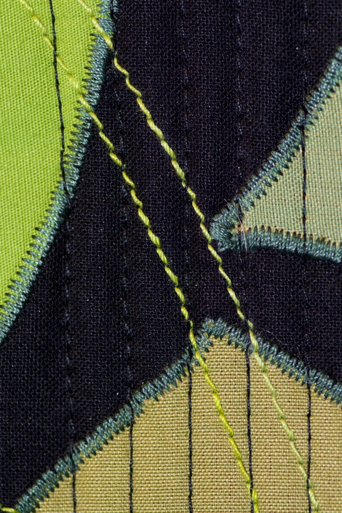 Leaf textile close-ups 1
