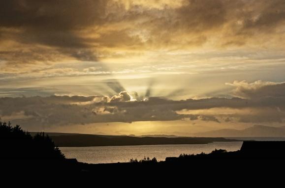 Loch Sunart sunset