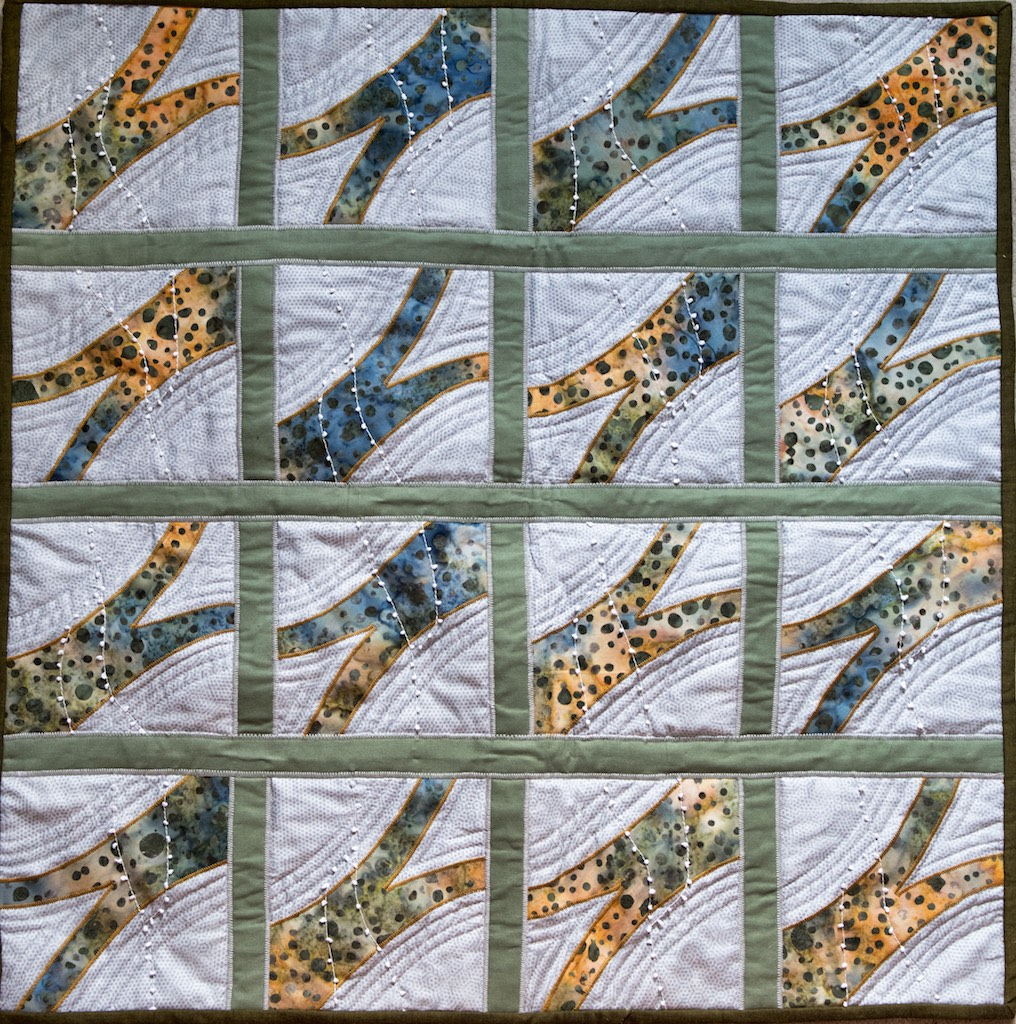 Nature's necklace quilt (1)